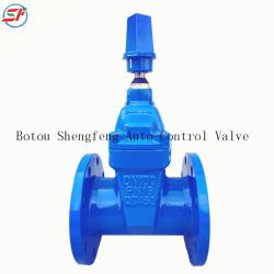 BS5163 PN16 ductile iron non rising gate valve
