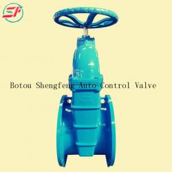 BS5163 cast iron DN400 gate valve