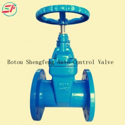 russian standard PN16 ductile iron gate valve