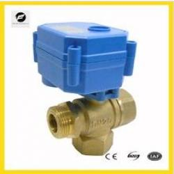 6NM CWX-60 3 way 1 inch DN25 motorized ball valve