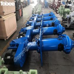 65QV-SP vertical slurry pumps, vertical spindle sump pumps