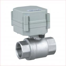 1/2''NPT/BSP 2 way stainless steel SS304 electric ball valve