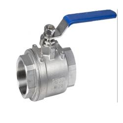 Two-PCS Type Thread Ball Valve