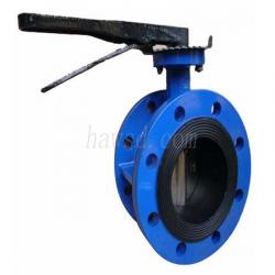 Lever Operated Flange Butterfly Valve