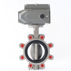 Marine Stainless Steel Lug Type Wafer Butterfly Valve