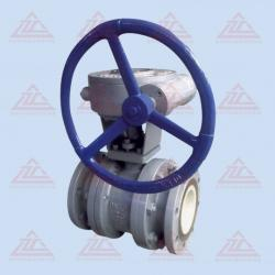 Worm Ceramic Ball Valve