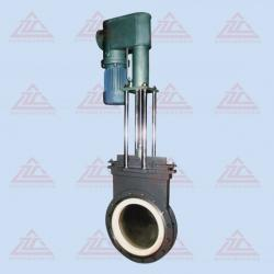 Electric Hydraulic thin ceramic gate valve
