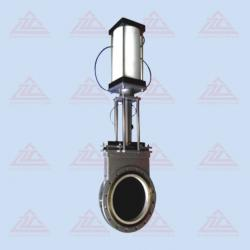 Characteristics This valve is application as an on-off media containing high hardness grains